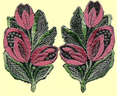 Turmac Tobacco Cigarette embroidered silk Flowers Silks 2