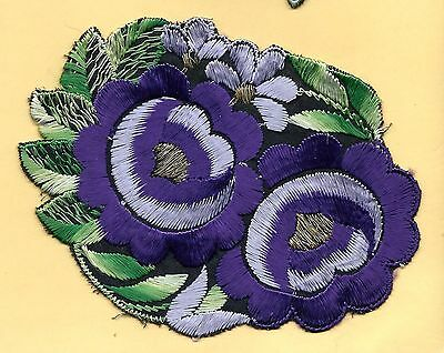 Turmac Tobacco Cigarette embroidery applique silk Flower Bb46 Silks 1