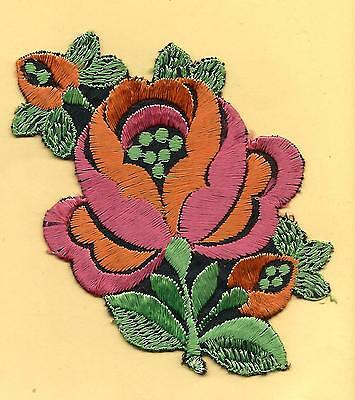 Turmac Tobacco Cigarette embroidery applique silk Flower Bb32 Silks 1