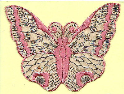 Turmac Tobacco Cigarette embroidered silk Butterflies Medium B2 Silks 1