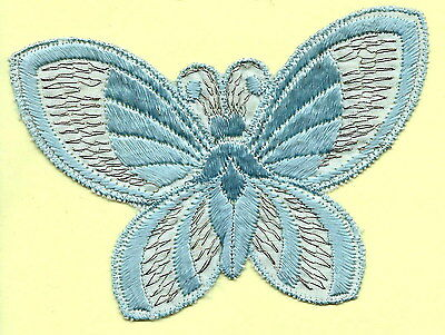 Turmac Tobacco Cigarette embroidered appliques silk Butterflies Med B73 Silks 1
