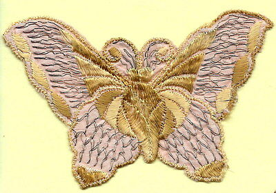 Turmac Tobacco Cigarette embroidery silk Butterflies Medium B87 Silks 1