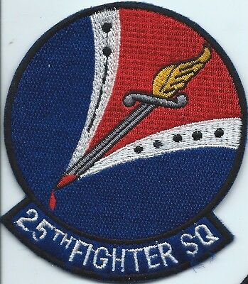 USAF patch 25 Fighter Squadron  US  Air Force Squadron patch  #2
