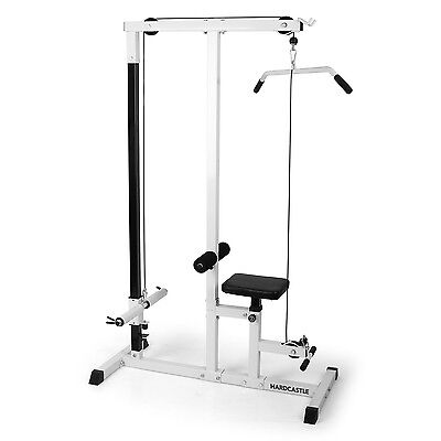 Home Fitness Mutli Gym Lat Pull Down Workout Machine Bench Exercise