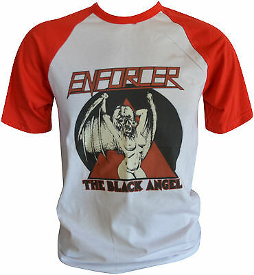 ENFORCER The Black Angel Baseball-T-Shirt M / Medium (ga79) 162550