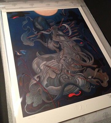 James Jean Chang'e Fine Art Print Fables Adrift Akira Kawasaki Sold Out s&n