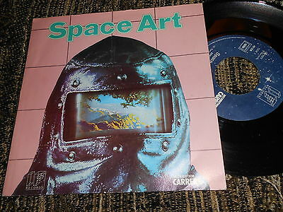 """SPACE ART Speedway/Odyssey 7"""" 1977 IF Records FRANCE FRENCH edition"""