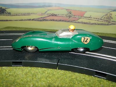 132nd Scale Vintage  'Scalextric' Lister Jaguar early 1960's