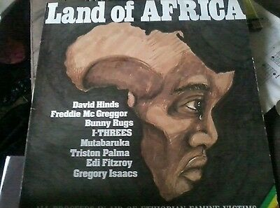 """12"""" single Land of Africa (various artists Reggae) Music is Life Mint 1985"""