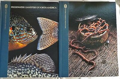 Lot Of 2 Fishing Books From Hunting And Fishing Library Freshwater And Live Bait