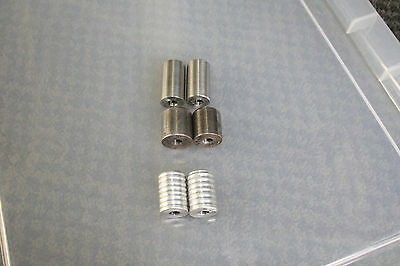 stabilizer long rod weights x 5, side bar weights x 6, 2 x rod extenders