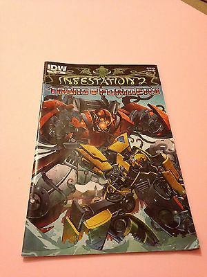 Transformers Comic Infestation 2