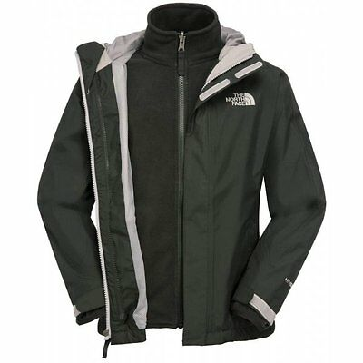 North Face Evolution Triclimate Jacket Girl's Black - Girls XS Age 5-6 Box6520 K