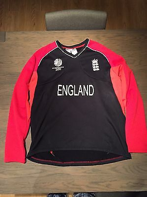 Player Issued England Shirt Cricket World Cup 2011