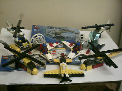 lego helicopter and plane bundle