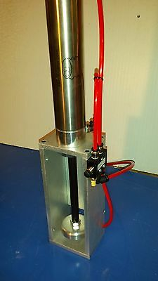 AUTO EJECT kevinkrusher can crusher w/ 2.0 bimba cylinder, vertical mount