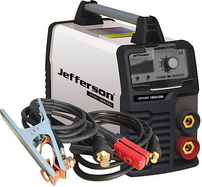 Jefferson 160 AMP Inverter Welder Portable with Carry Case JEFARC160A/230