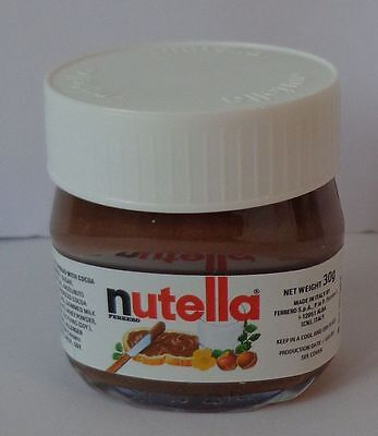 NUTELLA WORLD - 1 Mini Glas 30 g, MHD 7/17,  NEU