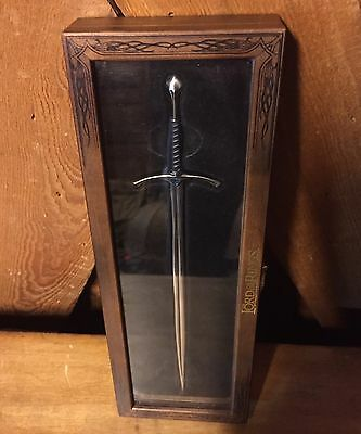 Lord of the Rings Gandalf Sword letter opener with case collector item Metal