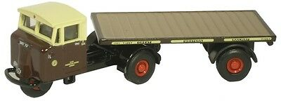Oxford 76MH003 00 LKW Mechanical Horse GWR Flatbed Trailer