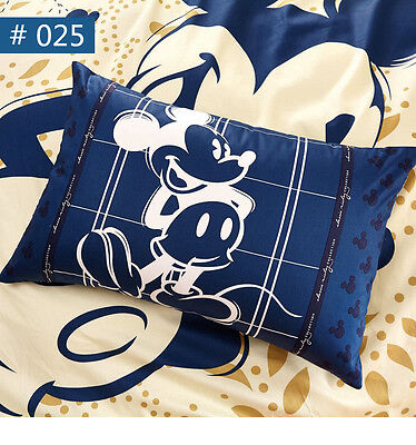 Disney Mickey Minnie Pillow Case Boys Pillowcases 100% Cotton Childrens Favorite