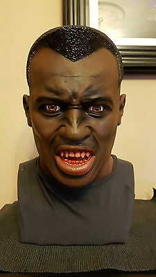 1/1 life size bust Blade Wesley Snipes prop horror 2 Christmas Present gift hoh