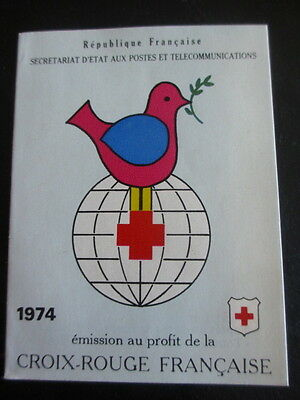 Carnet Croix-Rouge FRANCE - 1974 - NEUF **