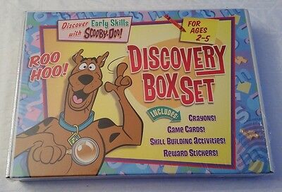 Scooby-Doo Discovery Box Set NIB/Sealed Skill Activities Stickers Game Cards
