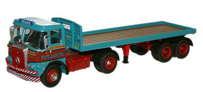 Oxford 76ATK001 00 Pollock Atkinson Bordered Flatbed Trailer