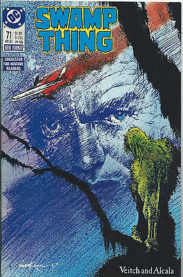 Swamp Thing #71 - April 1988