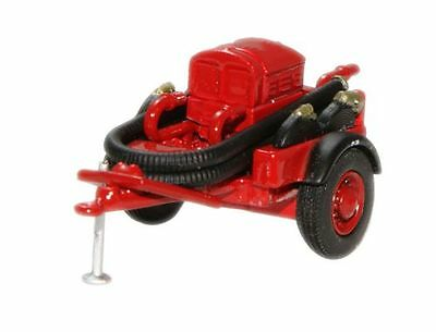 Oxford 76CCP003 00 Coventry Climax Pump Trailer red Feuerwehr
