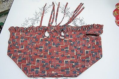Longaberger Old Glory Basket Liner