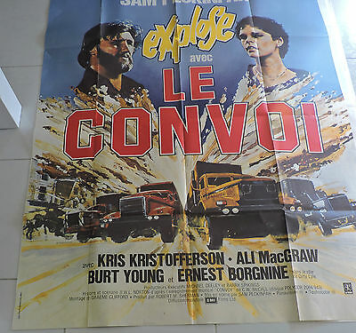 Affiche De Cinema Le Convoi Sam Peckinpah  120 *160 105