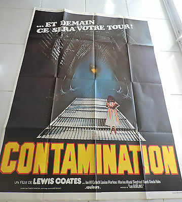 Affiche De Cinema Contamination Lewis Coates  120 *160 112