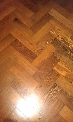 Approx 10 sq metres of reclaimed of parquet flooring