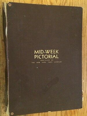 EXTREMELY RARE Collection of New York Times Mid-Week Pictorial Editions 1934-36