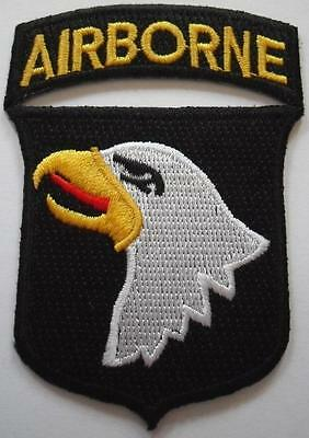 US. 101st. AIRBORNE PARA DIVISION BADGE  PATCH ( SCREAMING EAGLE ).no-611