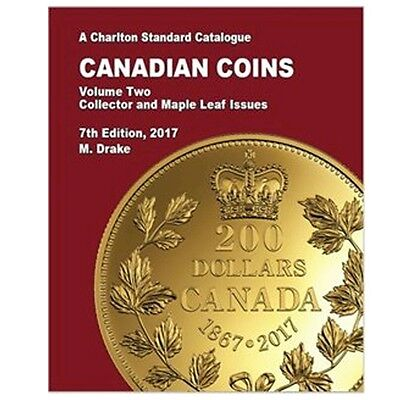 2017 Charlton Canadian Coins Volume 2 Royal Canadian Mint Collector & Maple Leaf