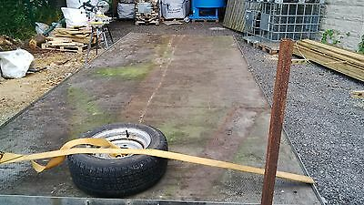 Ifor Williams LM166G Twin Axle Flat bed trail No Ramps