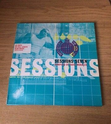 Ministry of Sound: David Morales Sessions Seven 7, 5x Vinyl Records (House) 1997