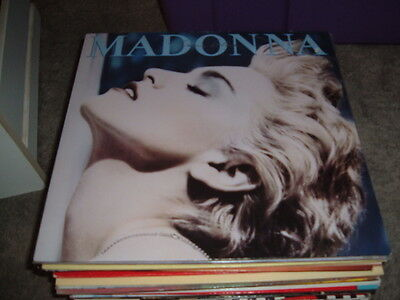 MADONNA TRUE BLUE 12 inch VINYL ALBUM
