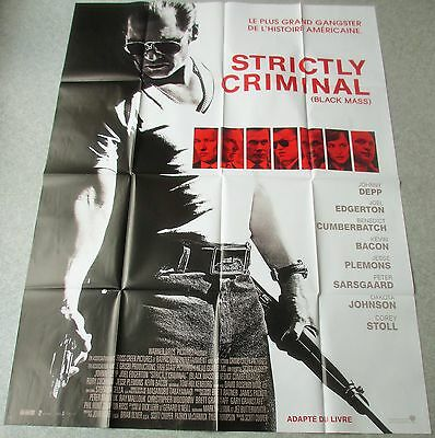Affiche Cinema 7143 - Strictly Criminal - Johny Depp - 120/160