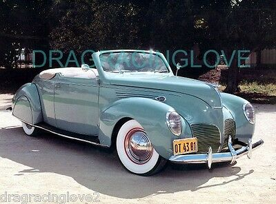 1948 Lincoln Zephyr Classic American Car 8x10 GLOSSY PHOTO!