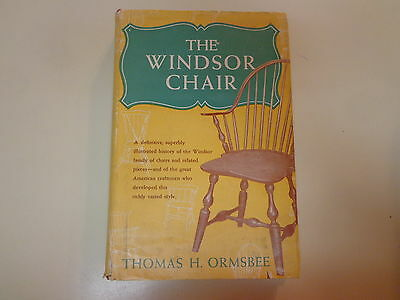 The Windsor Chair – Including Rockers HBDJ 1962 Thomas H Ormsbee