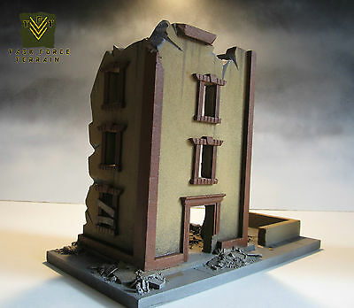 *fully Painted & Assembled 28Mm Wargames Buildings Terrain Warhammer 40K Space