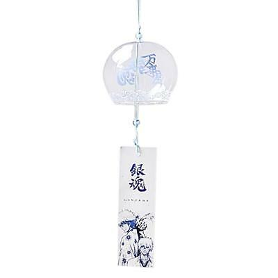 Japenese Style Bell Home Garden Ornament Glass Wind Chime Hanging Decor#2