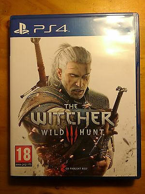 the witcher 3 wild hunt PS4 fisico