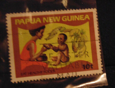 Postage Stamp - Papua New Guinea 10T