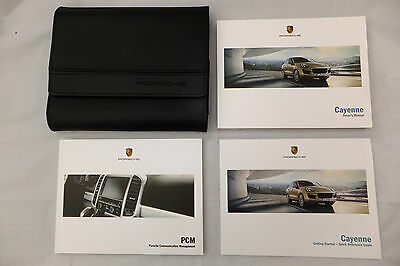 Porsche Cayenne Drivers Owners Manual Communication Booklet & Wallet 2015