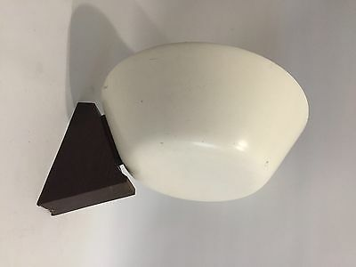 50er Design Wandlampe 50s Modern Sconce Italy or France Metal & Wood RARE *****